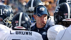 Georgia Southern head coach Jeff Monken