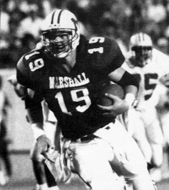 Marshall RB Mike Bartrum