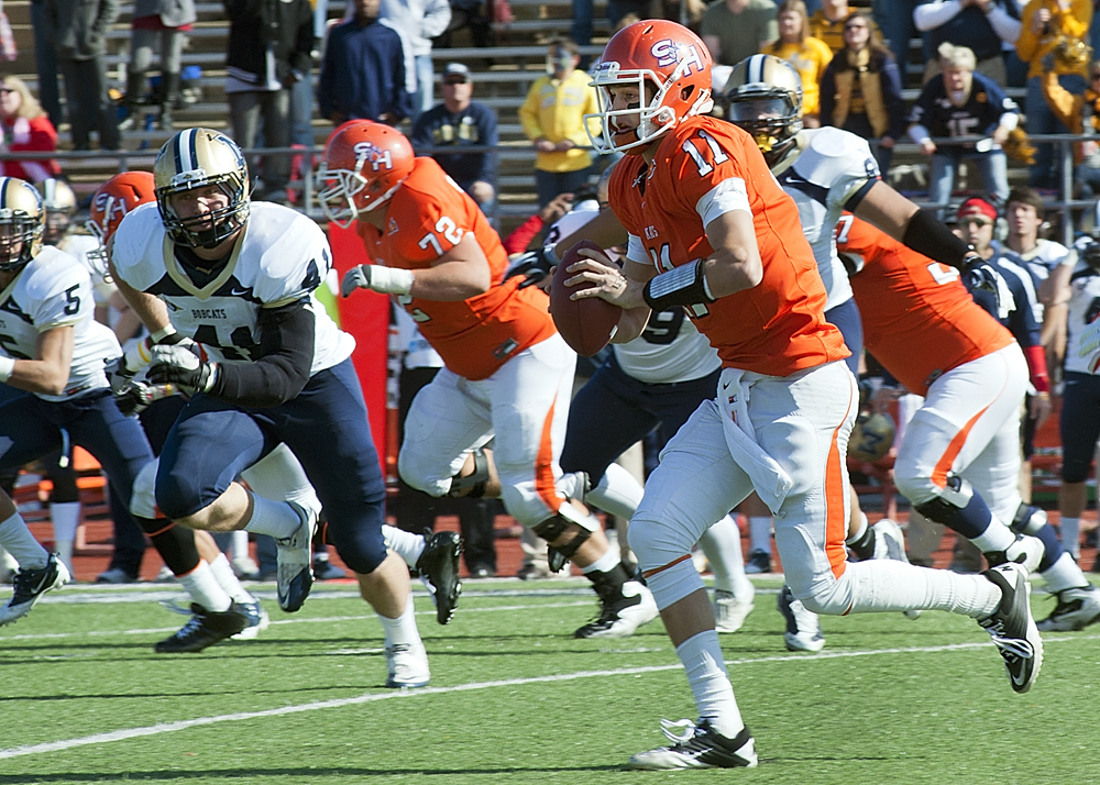 #11 Brian Bell (Photo by Brian Blalock/SHSU)