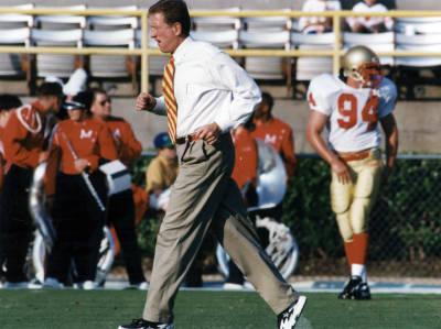 Former VMI head coach Bill Stewart