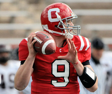 Cornell QB Jeff Mathews