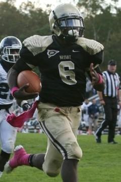 Bryant RB Jordan Brown