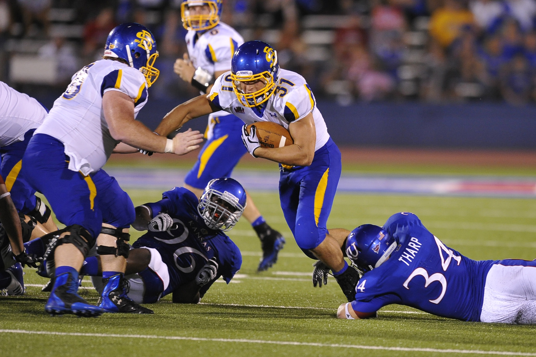 South Dakota State vs. Kansas 9/1/2012