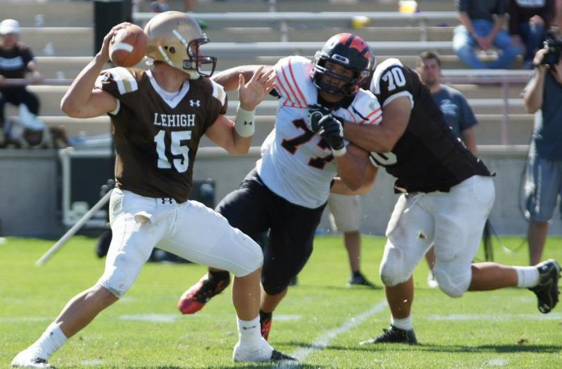 Lehigh QB Michael Colvin vs. Princeton, 9/15/2012