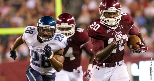 Temple runs over Villanova