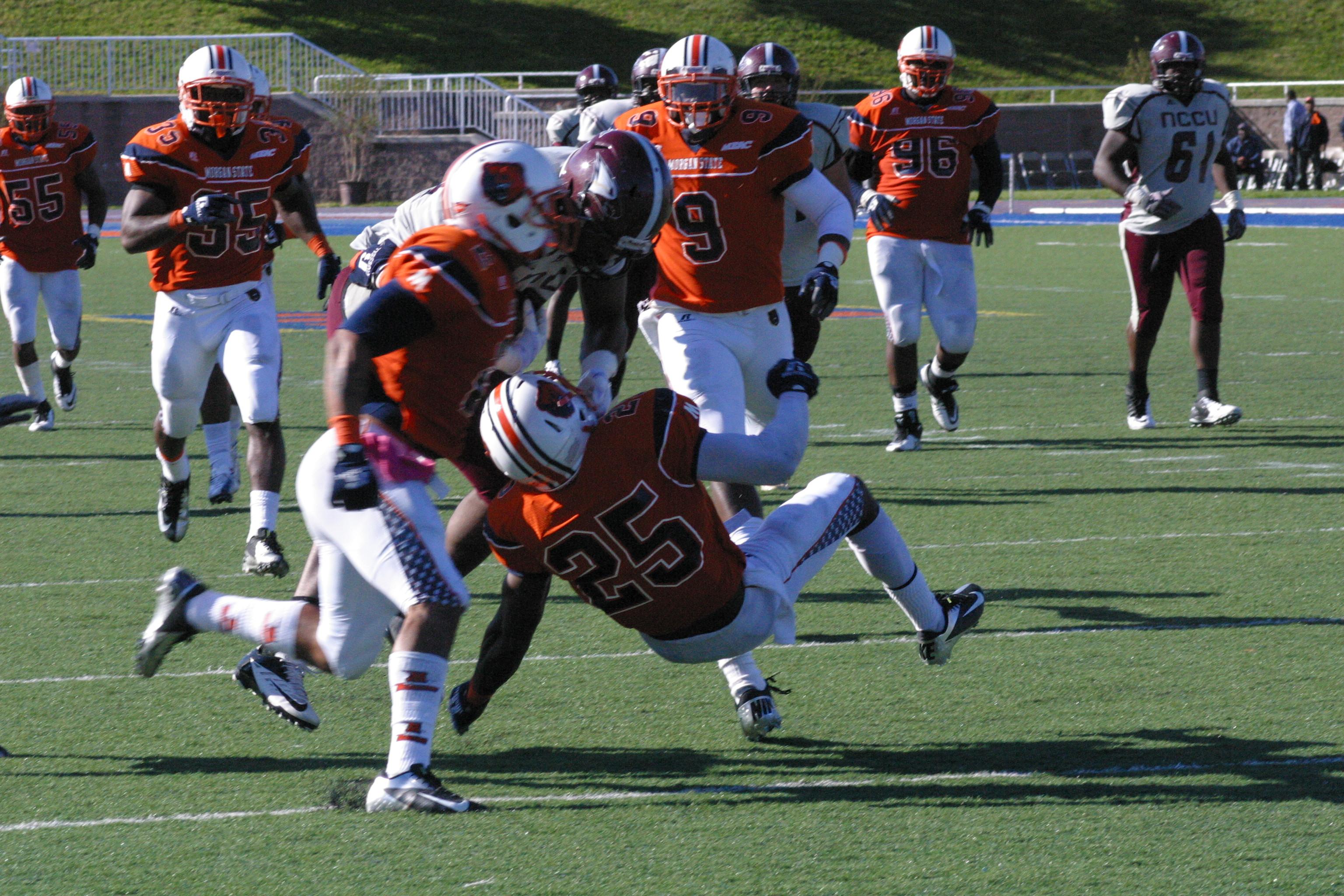 NCCU vs. Morgan, 10/13/2012
