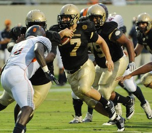 Wofford's Eric Breitenstein has redefined the fullback position in the Terriers' wingbone attack, coach Mike Ayers said.