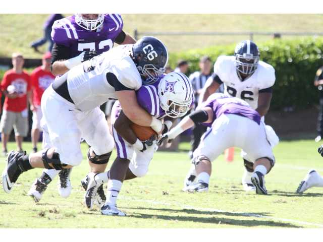 Georgia Southern DT Brent Russell vs. Furman, 10/20/2012