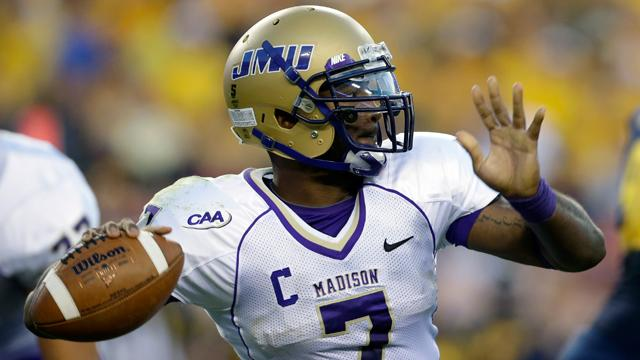 James Madison QB Justin Thorpe