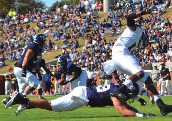 Georgia Southern vs. Appalachian State, 11/3/2012