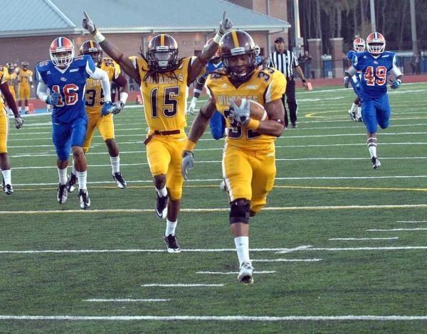 BCU vs. Savannah State, 11/10/2012
