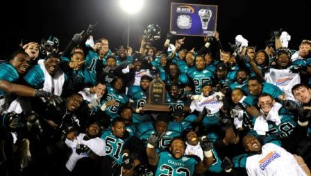 Coastal Carolina champs 10/17/2012