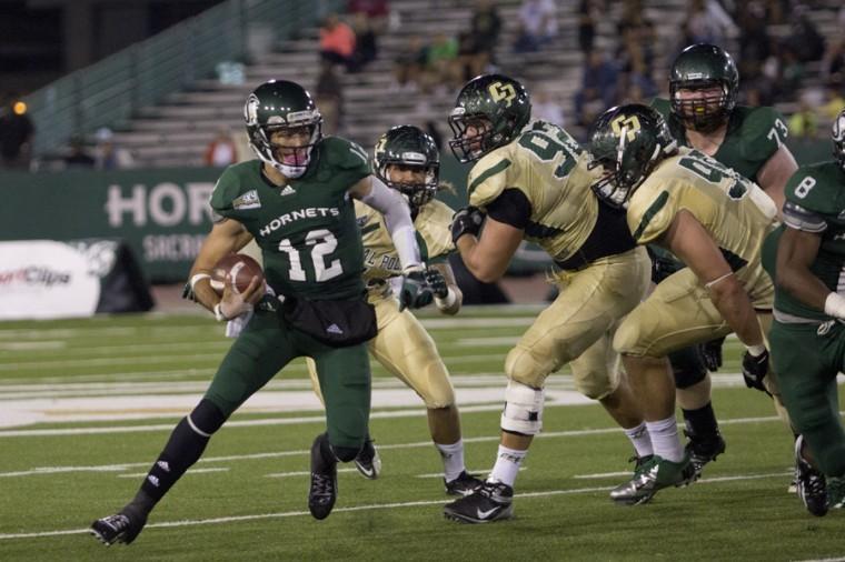 Sacramento State QB Garrett Safron