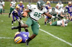 Wagner RB Dominique Williams, 11/3/2012