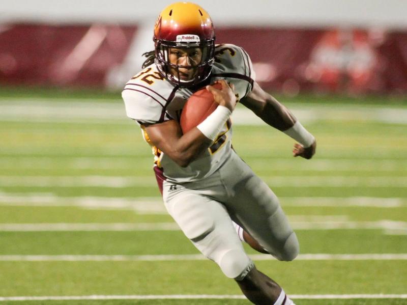 Bethune-Cookman RB Isidore Jackson, 10/27/2012