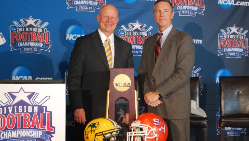 Bohl and Fritz FCS National Championship Media Tour 2012