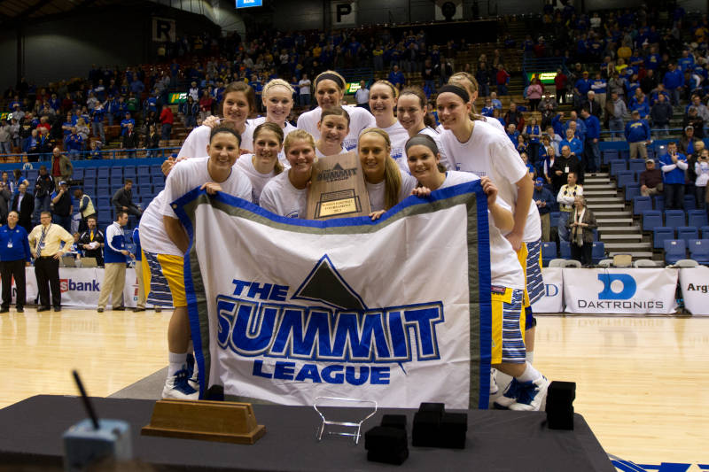 South Dakota State 2013 Women's Summit League Champs