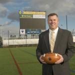 Delaware head football coach Dave Brock 2013