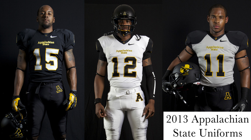 Appalachian State New Uniforms 2013