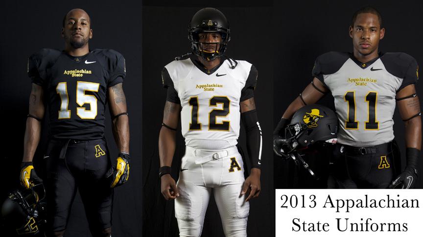 Appalachian State New Uniforms 2013