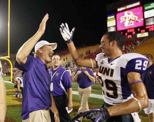 UNI Mark Farley over Iowa State 2013