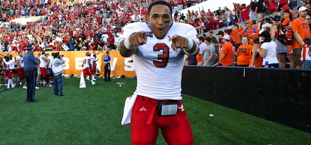 EWU Vernon Adams over Oregon State 2013