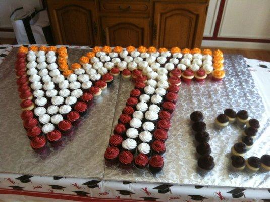 Virginia Tech Cupcakes