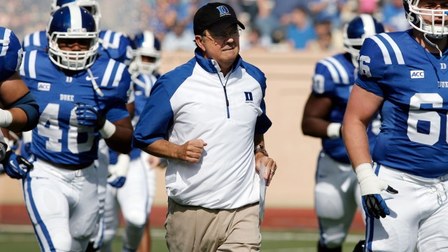 Duke Head Coach David Cutliffe