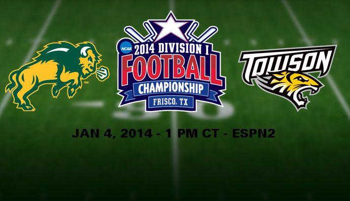 FCS Championship Towson vs. North Dakota State 2014