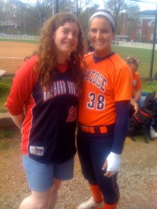 Julie Wambold Syracuse Softball