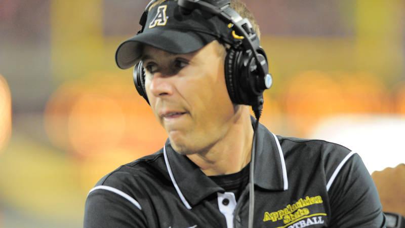 App State Head Coach Scott Satterfield (High County Press)