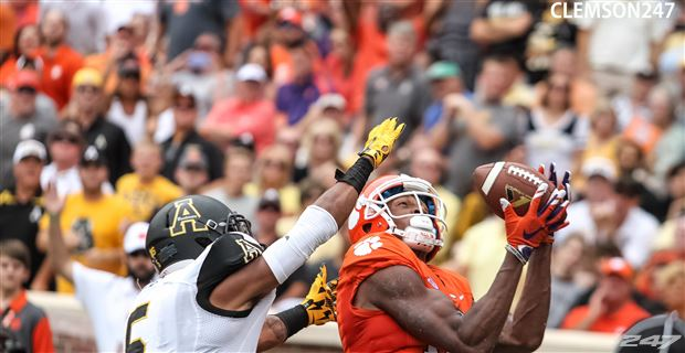 Appalachian State vs. Clemson, 2015 (Photo: Carrie Kelly, 247Sports)