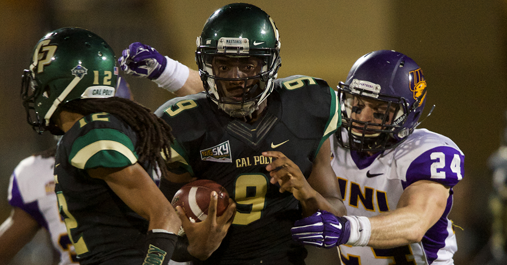 Cal Poly vs. UNI 2015 (Cal Poly Athletics)