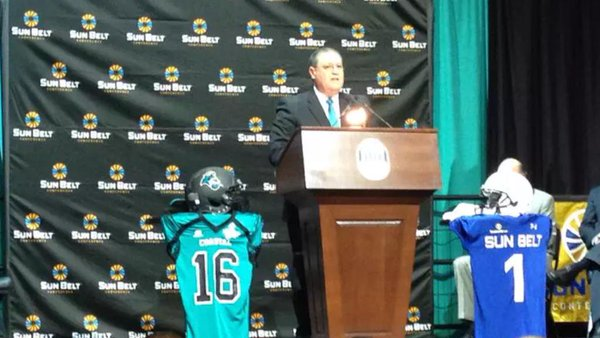 Sun Belt Announcement Coastal Carolina 2015