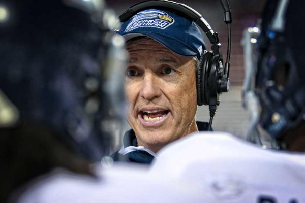 Georgia Southern coach Willie Fritz (Savannah Now)