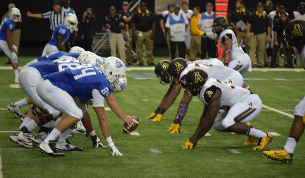 "Appalachian State vs. Georgia State (by Doug ""Bear"" Hazard/@BearlyDoug for Last Word on Sports)"