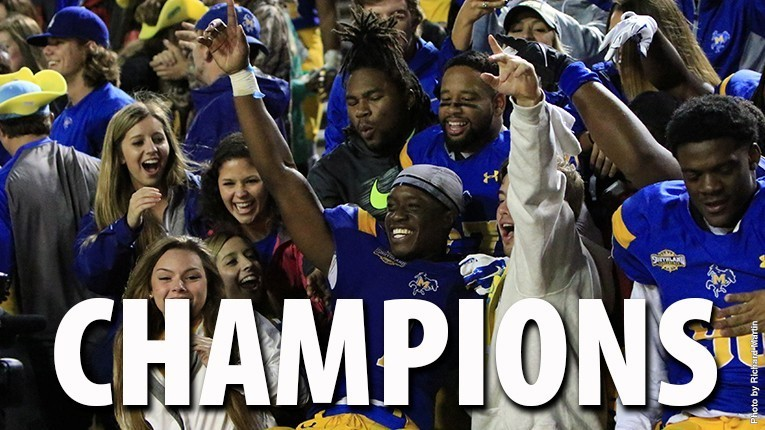 McNeese State 2015 Southland Champions (McNeese Athletics)