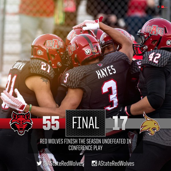 Arkansas State over Texas State 2015