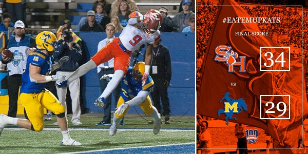 Sam Houston State over McNeese FCS Playoffs 2015