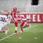 #36 Chris Fraser. Football vs. Lehigh, @ Schoelkopf Field, L (31-14) Photo by Cameron Pollack, Sun Staff Photographer