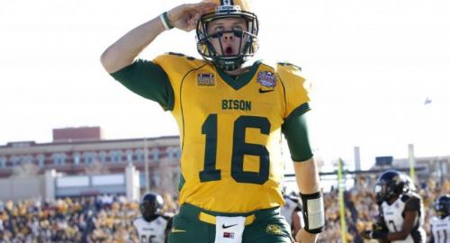 North Dakota State QB Brock jensen (George Hammond, Tue, 01/07/2014)