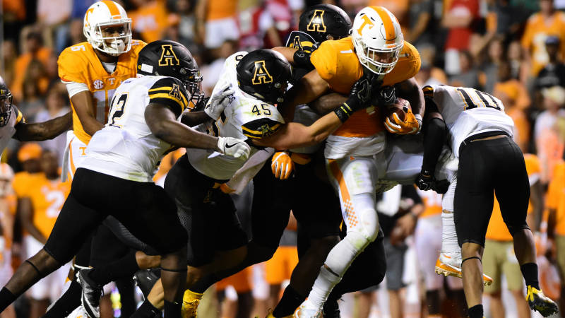 Appalachian State vs. Tennessee, 2016