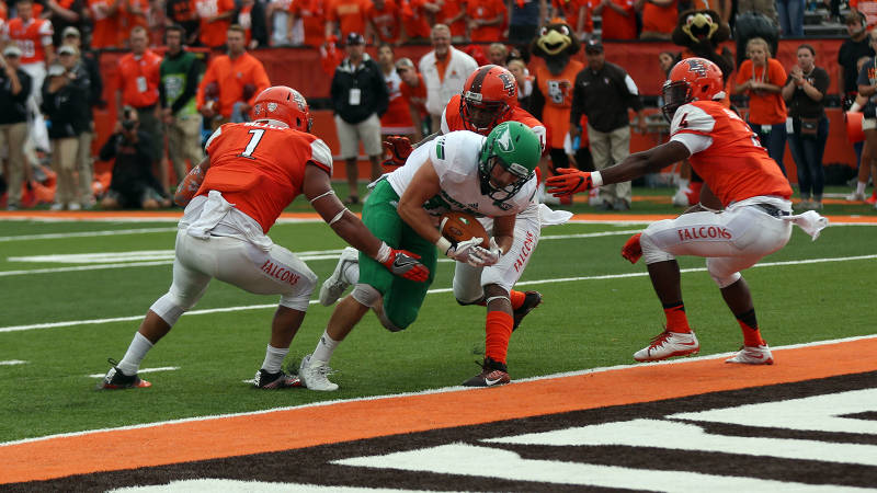North Dakota vs. Bowling Green, 2016
