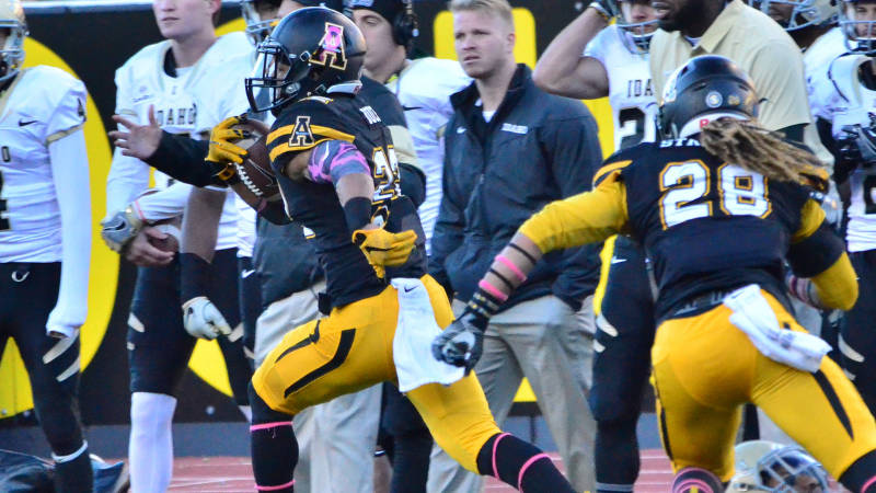Appalachian State vs. Idaho, 2016 (Appalachian State Athletics)