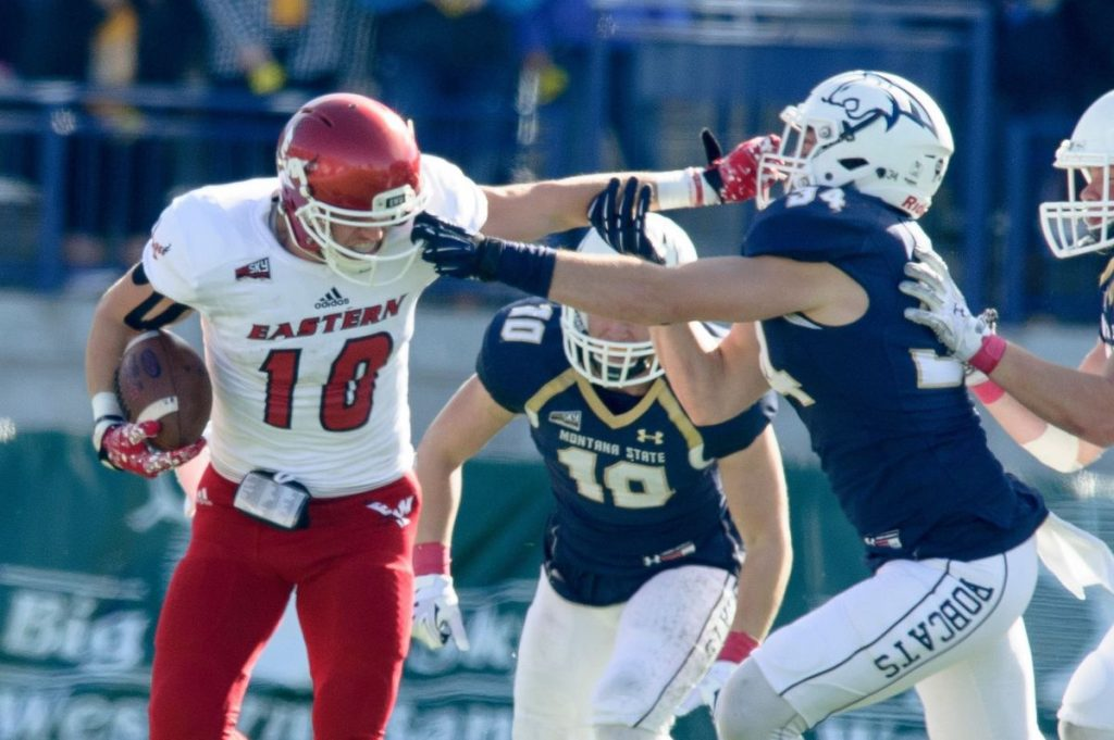 Eastern Washington vs. Montana State, 2016 (Kellyt Gorham/Montana State Athletics)