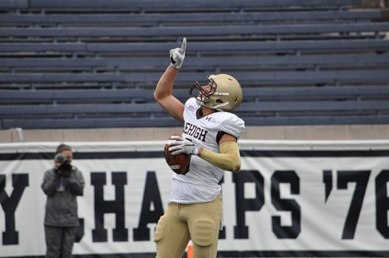 WR Troy Pelletier vs. Yale, Yale Bowl, 2016 (Lehigh Athletics)