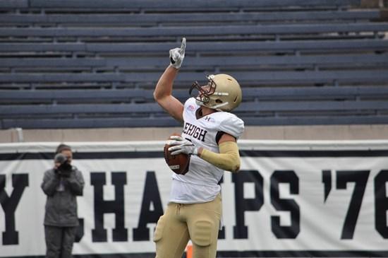 WR Troy Pelletier vs. Yale, Yale Bowl, 2016 (Lehigh Athletics)