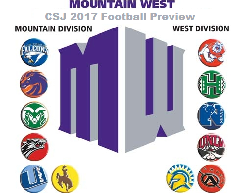 Top 25 College Football 2017 >> 2017 Season G5 FBS College Football Picks: Mountain West Conference - The College Sports Journal
