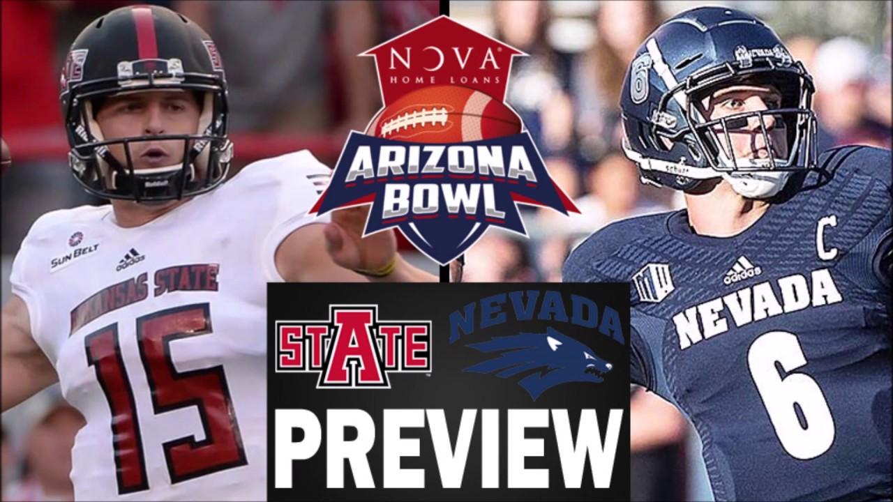 CSJ 2018 Arizona Bowl Preview: Arkansas State vs  Nevada