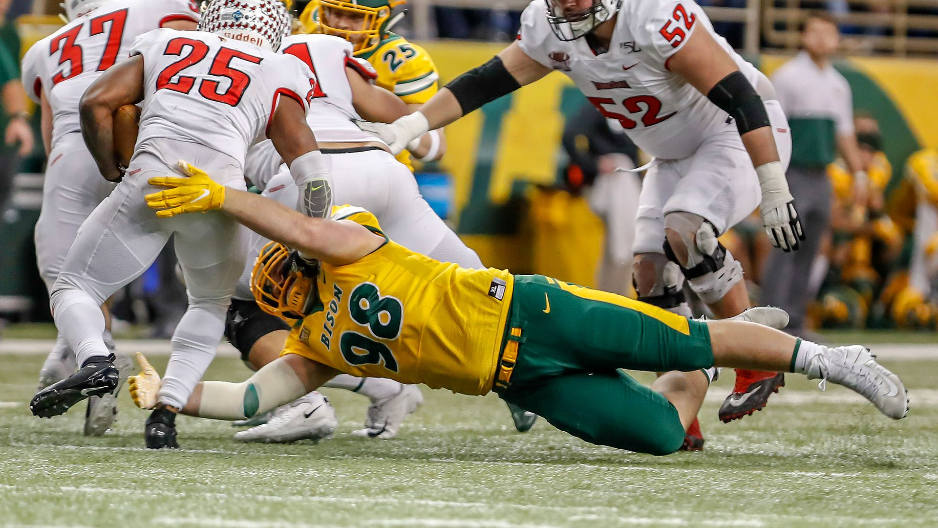 North Dakota State to host Bobcats in FCS semifinals